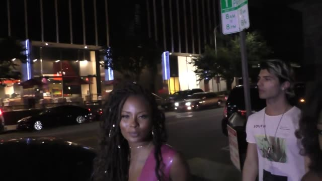 INTERVIEW Eva Marcille on Barack Obama's daughter twerking at the 16th Annual Maxim Hot 100 Party at the Hollywood Palladium at Celebrity Sightings...