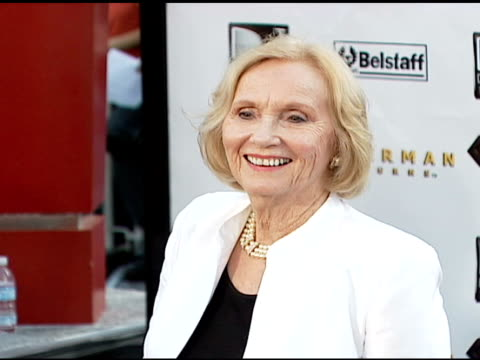 eva marie saint at the 'superman returns' premiere at the mann village theatre in westwood california on june 21 2006 - regency village theater stock videos & royalty-free footage