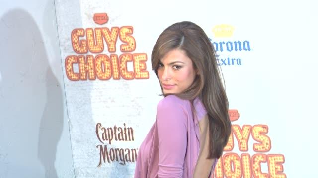 Eva Mendes at the 5th Annual Guys Choice Awards at Culver City CA