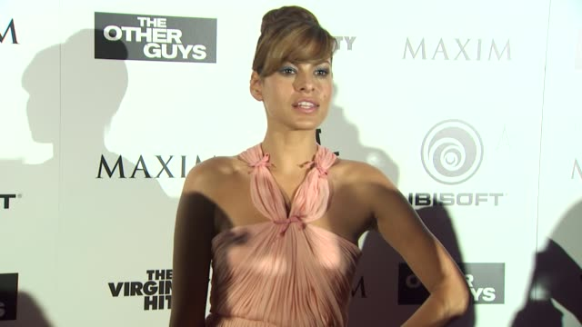 Eva Mendes at the Maxim Ubisoft And Sony Pictures Celebrate The Cast Of 'The Other Guys' at San Diego CA
