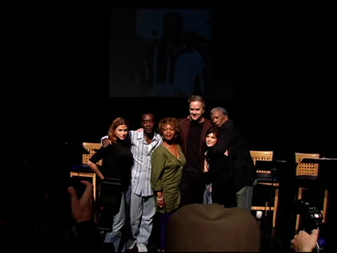 eva mendes, don cheadle, alfre woodard, tim robbins, marisa tomei, and morgan freeman at the 'impossible boulevard - from homelessness to hope'... - marisa tomei stock videos & royalty-free footage