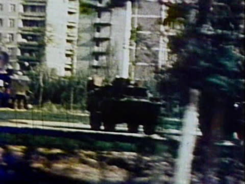 / evacuation of local residents and decontamination of the territory - 1986 stock videos & royalty-free footage