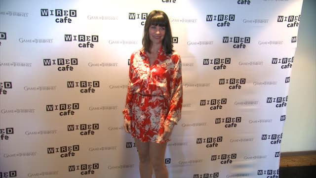 Evagline Lilly WIRED Cafe @ ComicCon Day One at Omni Hotel on July 24 2014 in San Diego California
