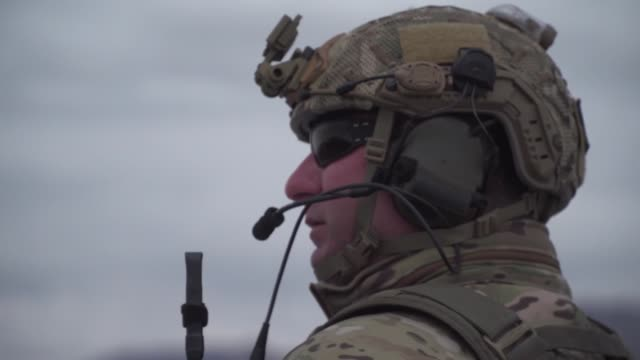 a jtac evaluation at the nevada test and training range including live 30mm rounds and practice bombs from an a10 - special forces stock videos & royalty-free footage