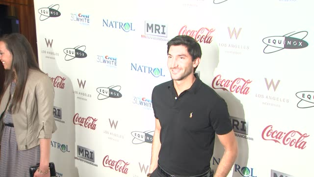 Evan Lysacek at CW3PR Presents Gold Meets Golden At Equinox Sports Club Hosted By Nicole Kidman 1/12/2013 in Los Angeles CA