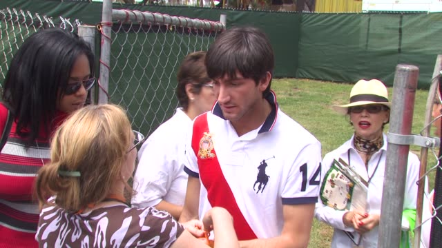 Evan Lysacek at the 21st Annual 'A Time For Heroes' Celebrity Picnic Benefit at Los Angeles CA