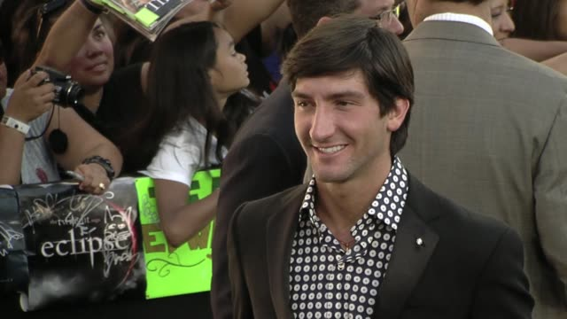 Evan Lysacek at the 'The Twilight Saga Eclipse' Premiere at Los Angeles CA