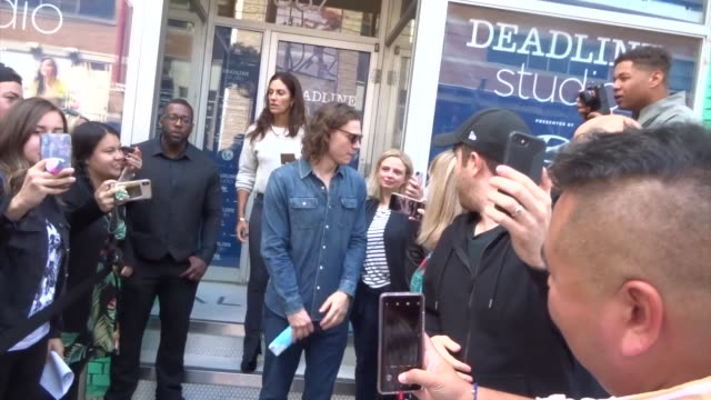 evan peters spotted on day 2 of the 2019 toronto international film festival at celebrity sightings in toronto on september 06, 2019 in toronto,... - toronto international film festival stock videos & royalty-free footage
