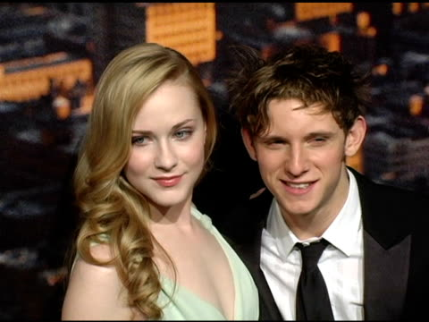 Evan Rachel Wood and Jamie Bell at the 'King Kong' New York Premiere at Loews EWalk and AMC Empire Cinemas in New York New York on December 5 2005