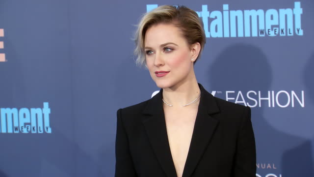 Evan Rachel Wood at 22nd Annual Critics' Choice Awards in Los Angeles CA