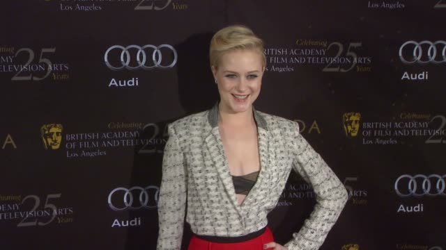 Evan Rachel Wood at BAFTA Los Angeles 18th Annual Awards Season Tea Party on 1/14/2012 in Beverly Hills CA