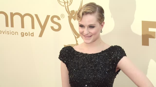 Evan Rachel Wood at the 63rd Primetime Emmy Awards Arrivals Part 2 at Los Angeles CA