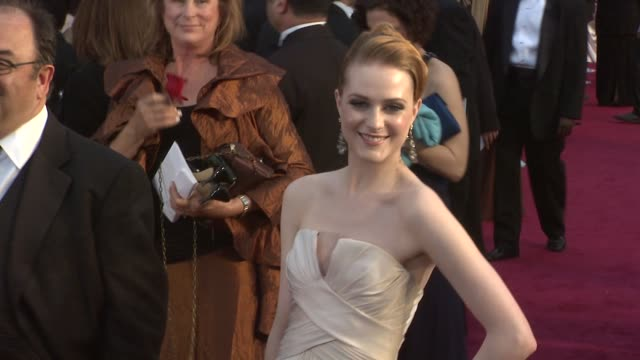 Evan Rachel Wood at the 81st Academy Awards Arrivals Part 3 at Los Angeles CA