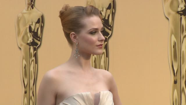 Evan Rachel Wood at the 81st Academy Awards Arrivals Part 7 at Los Angeles CA
