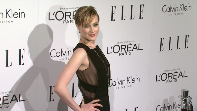 Evan Rachel Wood at the ELLE's 18th Annual Women in Hollywood Tribute at Beverly Hills CA