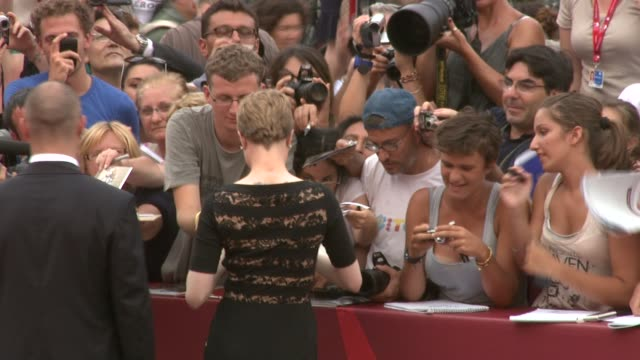 Evan Rachel Wood at the Mildred Pierce Premiere Venice Film Festival 2011 at Venice
