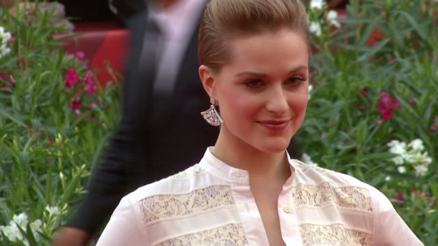 Evan Rachel Wood at the The Ides of March Premiere Venice Film Festival at Venice