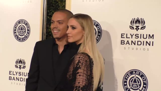 Evan Ross and Ashlee Simpson at The Art of Elysium Presents Stevie Wonder's HEAVEN Celebrating the 10th Anniversary at Red Studios on January 07 2017...