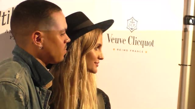 Evan Ross and Ashlee Simpson at the Opening Of What Goes Around Comes Around in Beverly Hills