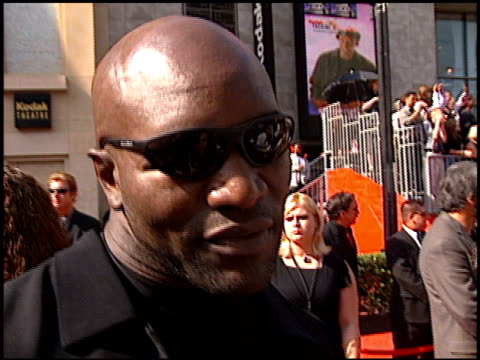 evander holyfield at the espy awards at the kodak theatre in hollywood, california on july 10, 2002. - espy awards stock videos & royalty-free footage