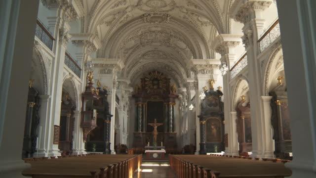 vidéos et rushes de ms td evangelical church of city / friedrichshafen, baden wuerttemberg, germany - église