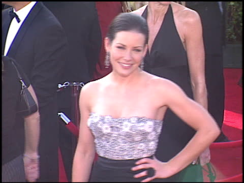 evangeline lilly at the 2005 emmy awards entrances at the shrine auditorium in los angeles california on september 18 2005 - 2005 stock videos and b-roll footage