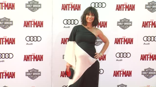 Evangeline Lilly at The World Premiere of Marvel's AntMan at Dolby Theatre on June 29 2015 in Hollywood California