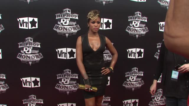 eve at the 2009 vh1 hip hop honors red carpet at new york ny - vh1 stock-videos und b-roll-filmmaterial