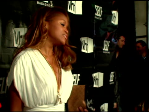 eve at the 'hollywood's tightest bodies' presented by self magazine and vh1 at tenjune in new york new york on march 21 2007 - vh1 bildbanksvideor och videomaterial från bakom kulisserna