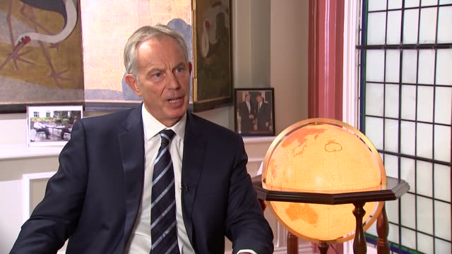 Eve of 10th anniversary of London 7/7 bombings Tony Blair interview More of Blair interview SOT