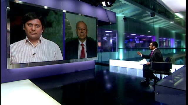 impact of the attacks on Pakistan ENGLAND London GIR INT Cyril Almeida LIVE 2WAY interview from Islamabad and Professor Akbar Ahmed LIVE 2WAY...