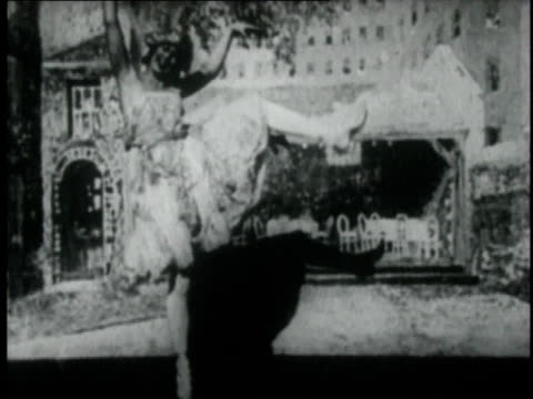 1921 montage evelyn law dancing / new york, new york, united states - 1921 stock videos & royalty-free footage