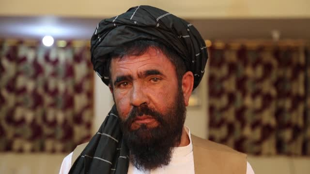 even as the taliban and afghan forces are engaged in pitch battles across afghanistan, militant commander haji lala made his plans to renounce... - kandahar afghanistan stock videos & royalty-free footage
