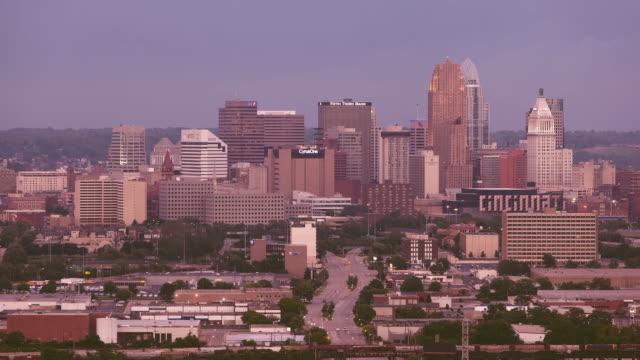 Evening Cincinnati Skyline