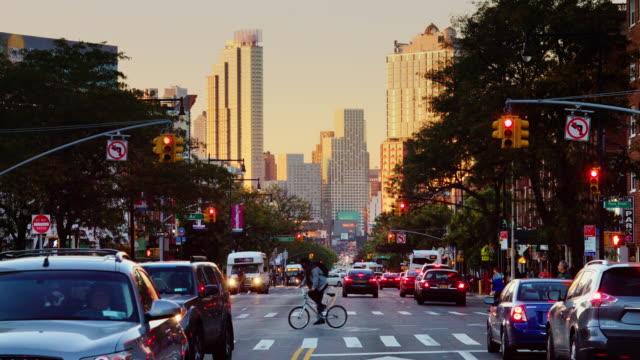 Evening Traffic Near Grand Army Plaza, Brooklyn