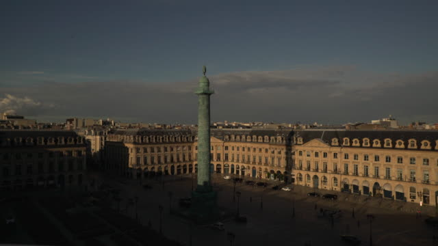 stockvideo's en b-roll-footage met evening vendome - colonne vendome