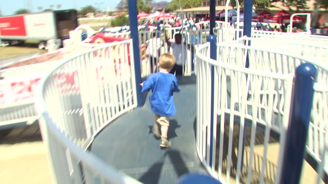 event at the cvs/pharmacy 's biggest playdate' at los angeles ca. - cvs caremark stock videos & royalty-free footage
