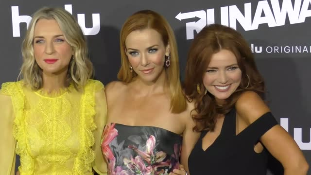 ever carradine annie wersching at the premiere of hulu's 'marvel's runaways' on november 16 2017 in los angeles california - annie wersching stock videos and b-roll footage