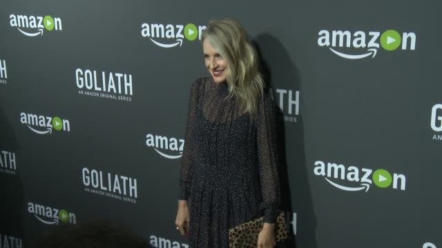 ever carradine at the amazon red carpet premiere screening of original drama series goliath at the london on september 29 2016 in west hollywood... - ever carradine stock videos & royalty-free footage