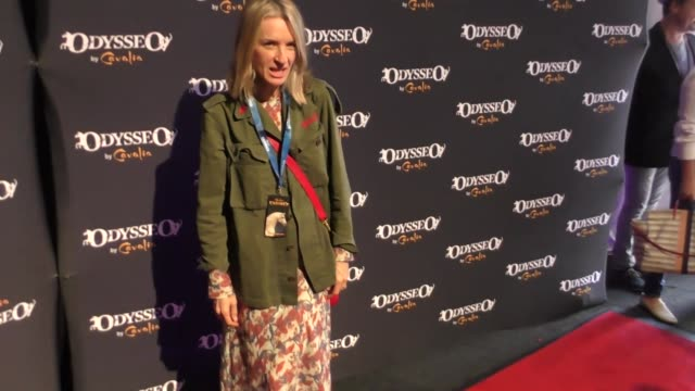ever carradine at the celebrity premiere of cavalia odysseo under the white big top on november 11 2017 in camarillo california - camarillo stock videos & royalty-free footage