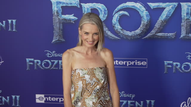 ever carradine at the frozen ii world premiere at dolby theatre on november 07 2019 in hollywood california - ever carradine stock videos & royalty-free footage