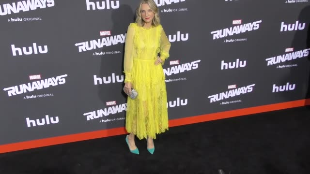 ever carradine at the premiere of hulu's 'marvel's runaways' on november 16 2017 in los angeles california - ever carradine stock videos & royalty-free footage