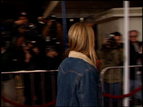 ever carradine at the 'saving silverman' premiere at the mann village theatre in westwood california on february 7 2001 - ever carradine stock videos & royalty-free footage
