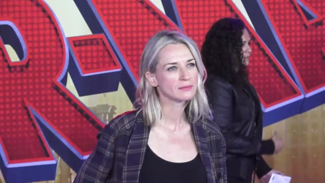 ever carradine at the 'spiderman into the spiderverse' premiere at the regency village theatre in los angeles - ever carradine stock videos & royalty-free footage