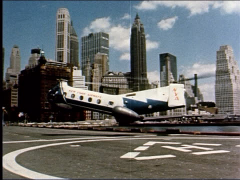 1962 ever new york, 6 of 14 - helicopter tour stock videos and b-roll footage