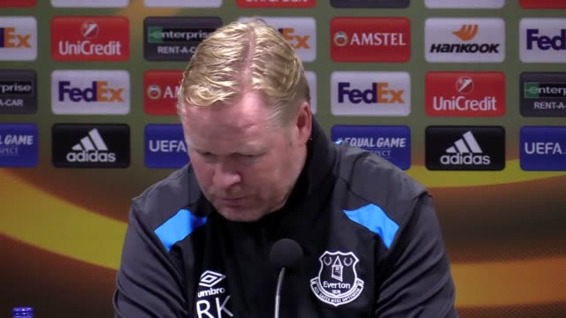 Everton boss Ronald Koeman was forced to endure more disappointment as Lyon consigned his side to an illtempered defeat and more Europa League misery...