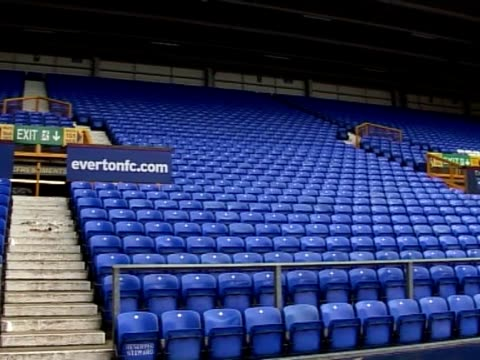 Everton Football Club's home ground Goodison Park General Views at Goodison Park on November 18 2011 in Liverpool England