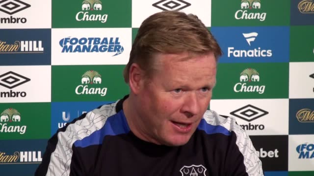 Everton manager Ronald Koeman comments on mental health issues in football following Aaron Lennon's recent problems and comments on Everton's match...