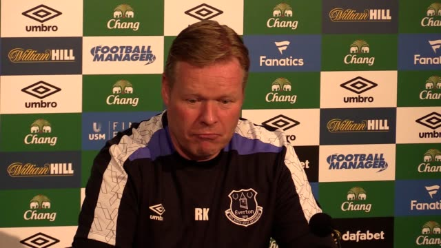 Everton manager Ronald Koeman previews their Premier League game against Watford