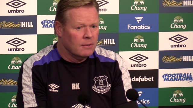Everton preview press conference with manager Ronald Koeman ahead of their Premier League match against Middlesbrough